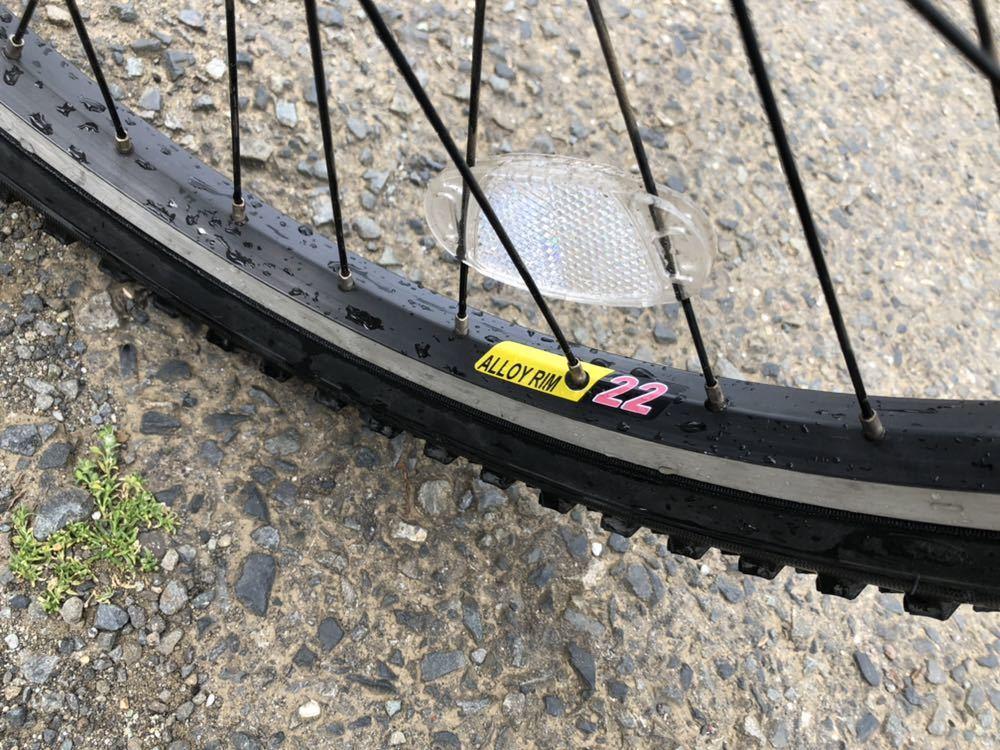 子供用自転車 22インチ パタゴニアステッカー_画像7