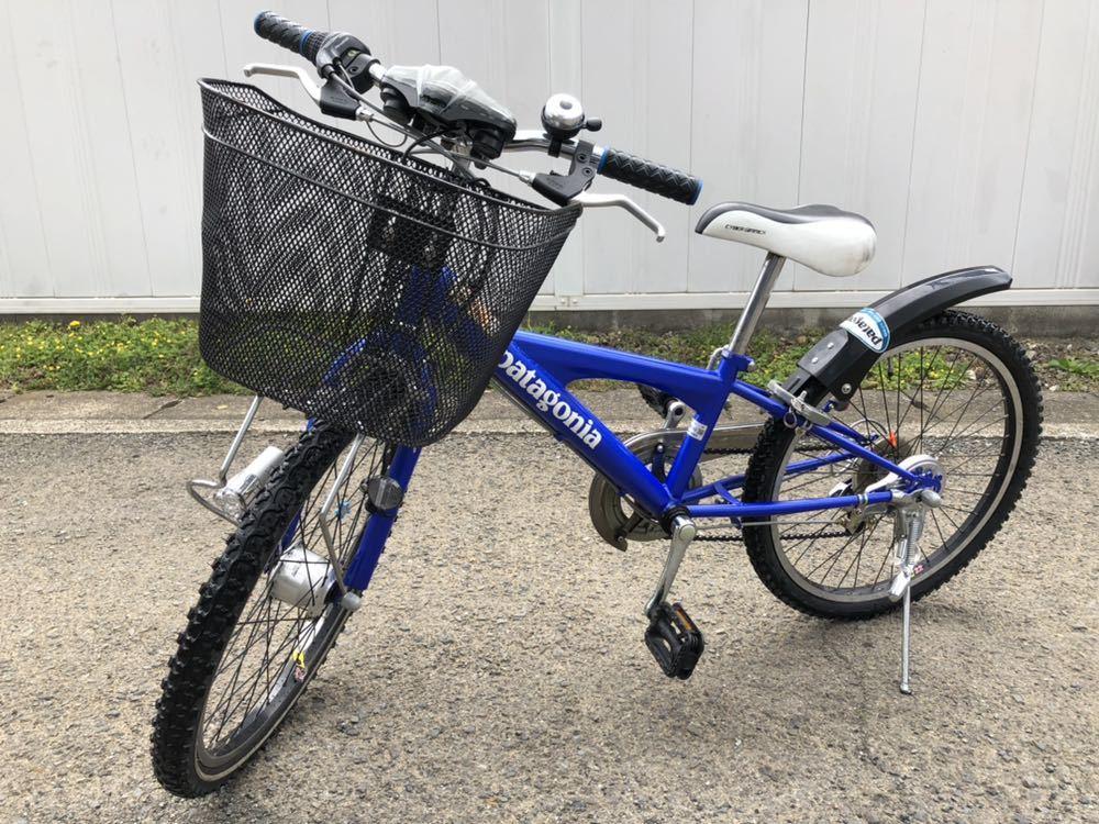 子供用自転車 22インチ パタゴニアステッカー