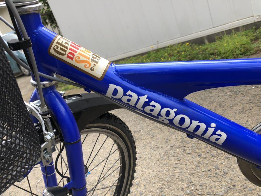 子供用自転車 22インチ パタゴニアステッカー_画像4