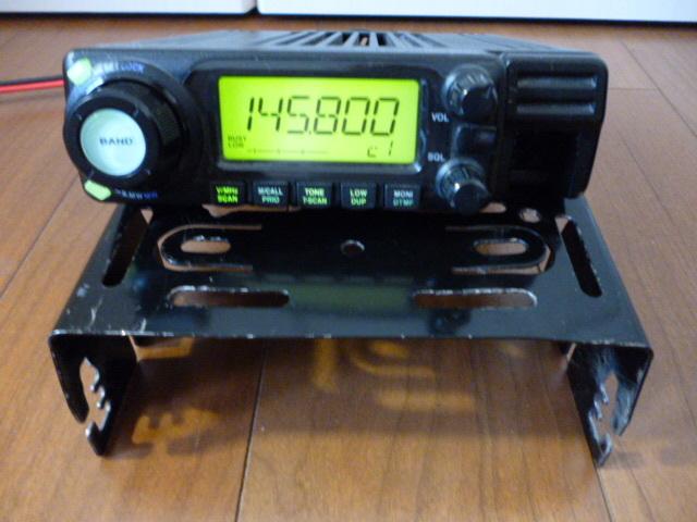 訳あり格安スタート、ジャンクで アイコム 144/430MHz帯 デュアルバンド無線機 IC-208