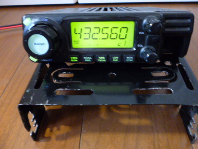 訳あり格安スタート、ジャンクで アイコム 144/430MHz帯 デュアルバンド無線機 IC-208_画像2
