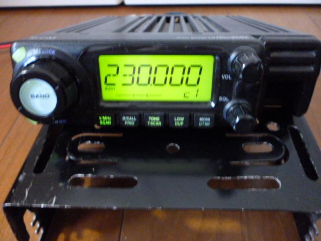 訳あり格安スタート、ジャンクで アイコム 144/430MHz帯 デュアルバンド無線機 IC-208_画像6