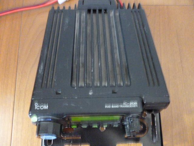 訳あり格安スタート、ジャンクで アイコム 144/430MHz帯 デュアルバンド無線機 IC-208_画像7