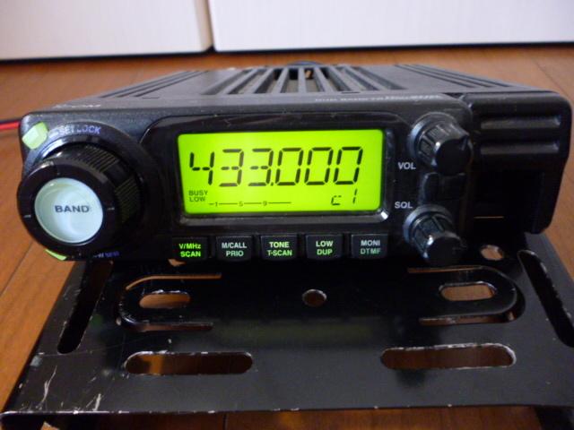 訳あり格安スタート、ジャンクで アイコム 144/430MHz帯 デュアルバンド無線機 IC-208_画像9