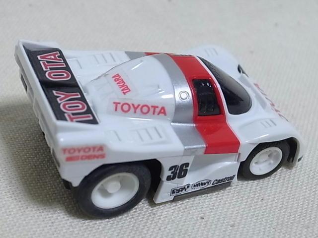 【タカラ チョロQ HG】トヨタ85C サーキットチョロQ NO.02E 日本製_画像2