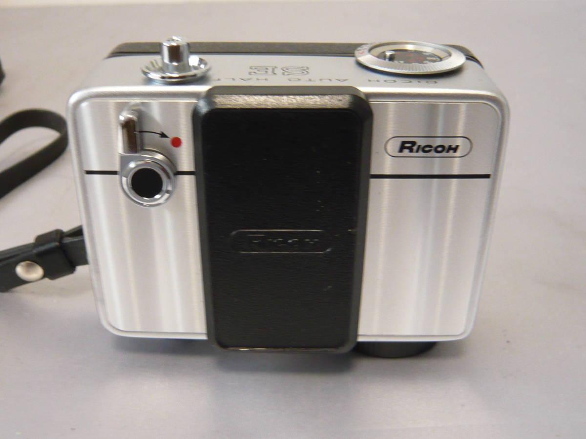 リコーオートハーフSE フィルムコンパクトカメラ RICOH ジャンク扱い_画像2
