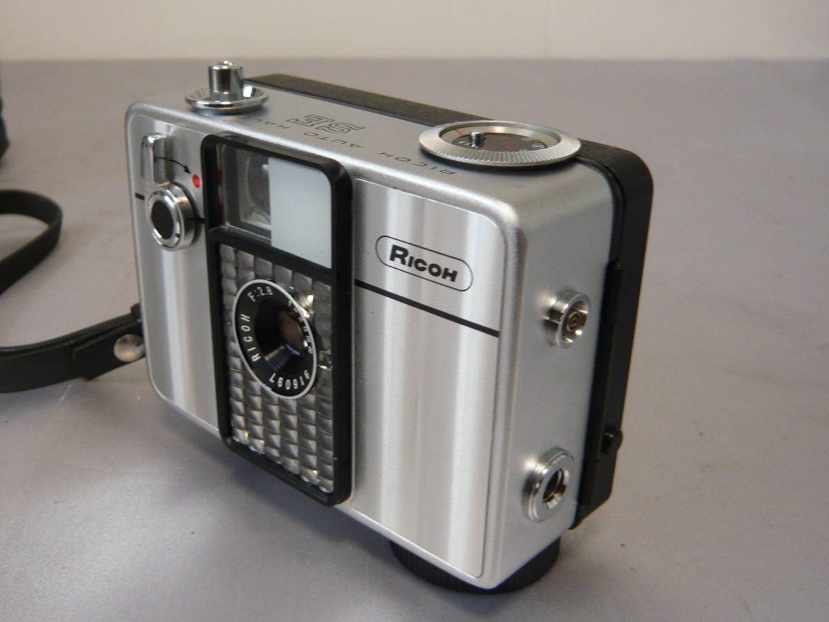 リコーオートハーフSE フィルムコンパクトカメラ RICOH ジャンク扱い_画像3