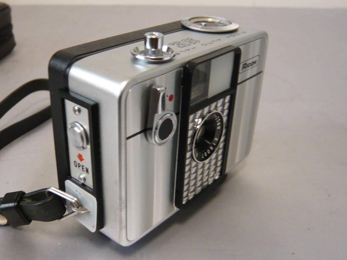 リコーオートハーフSE フィルムコンパクトカメラ RICOH ジャンク扱い_画像4