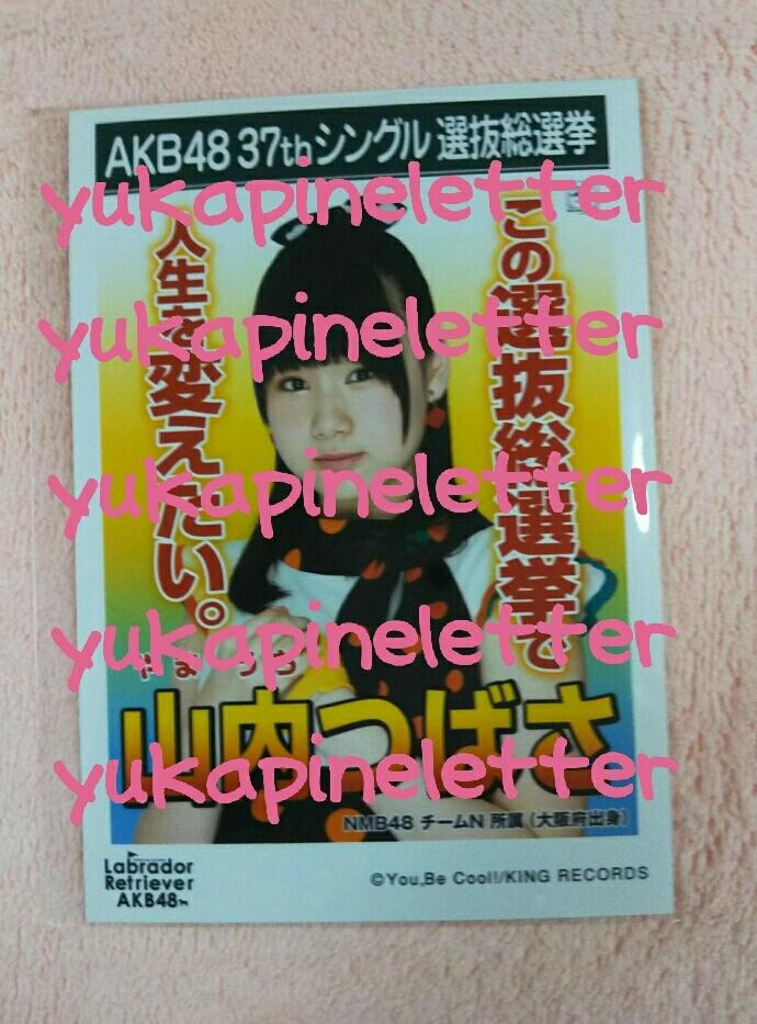 AKB48 37thシングル 選抜総選挙 Labrador Retriever AKB48 劇場版 生写真 NMB48 チームN 山内つばさ