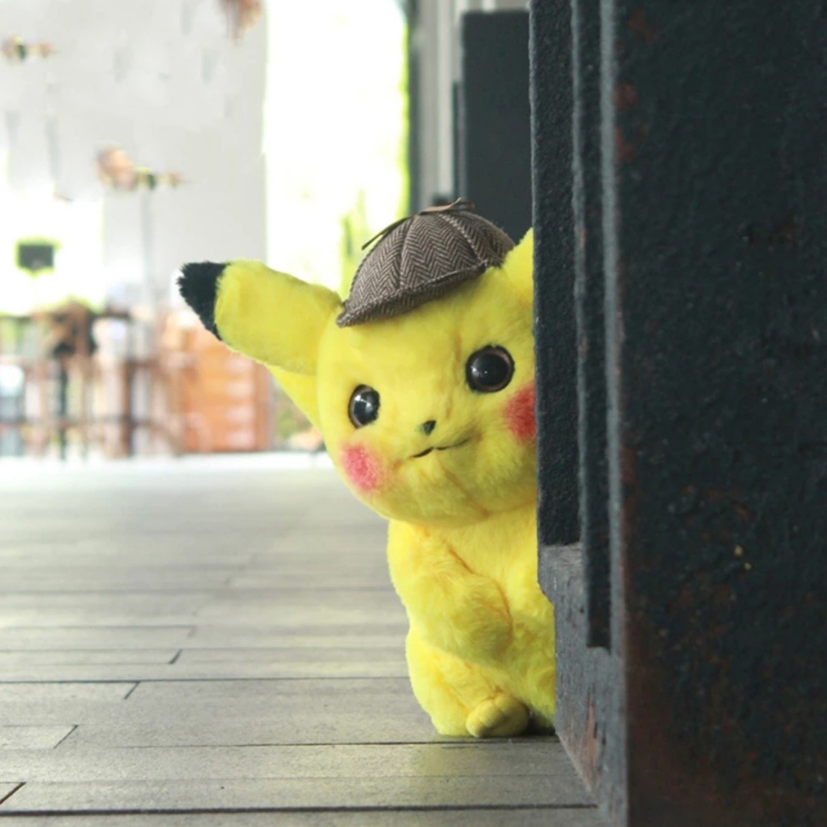 海外限定品 送料込み 日本未発売 ピカチュウ ぬいぐるみ 映画 Pikachu 名探偵ピカチュウ ピカチュー