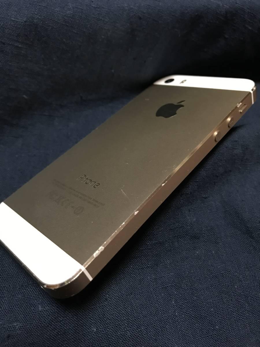 iPhone 5s 32GB Model A1453 白 ゴールド docomo版 箱なし 本体のみ_画像5