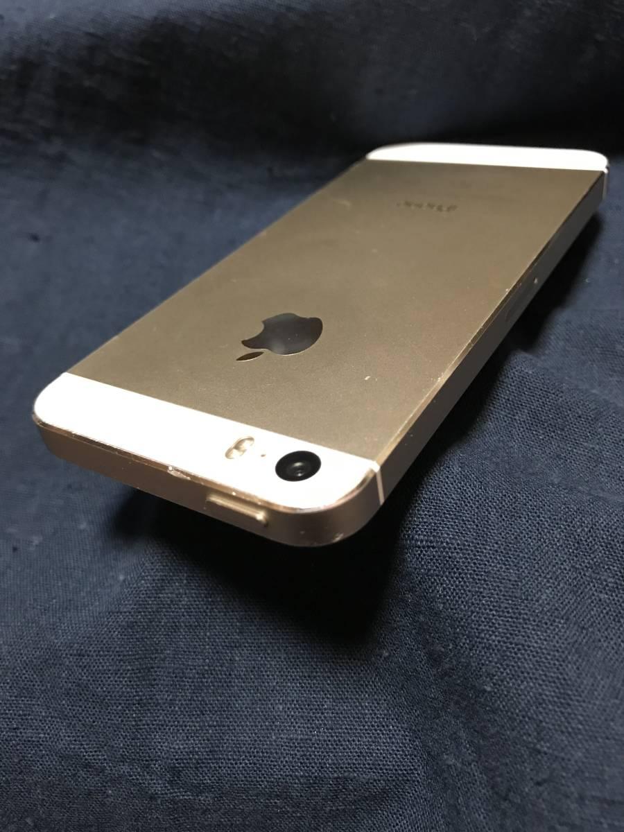 iPhone 5s 32GB Model A1453 白 ゴールド docomo版 箱なし 本体のみ_画像6