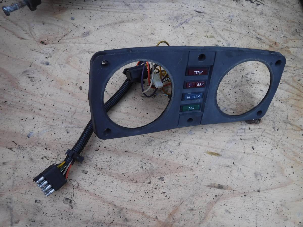 ポラリス 93 インディー XLT580 ③ メーター枠 パネル 警告ランプ  sks_画像1