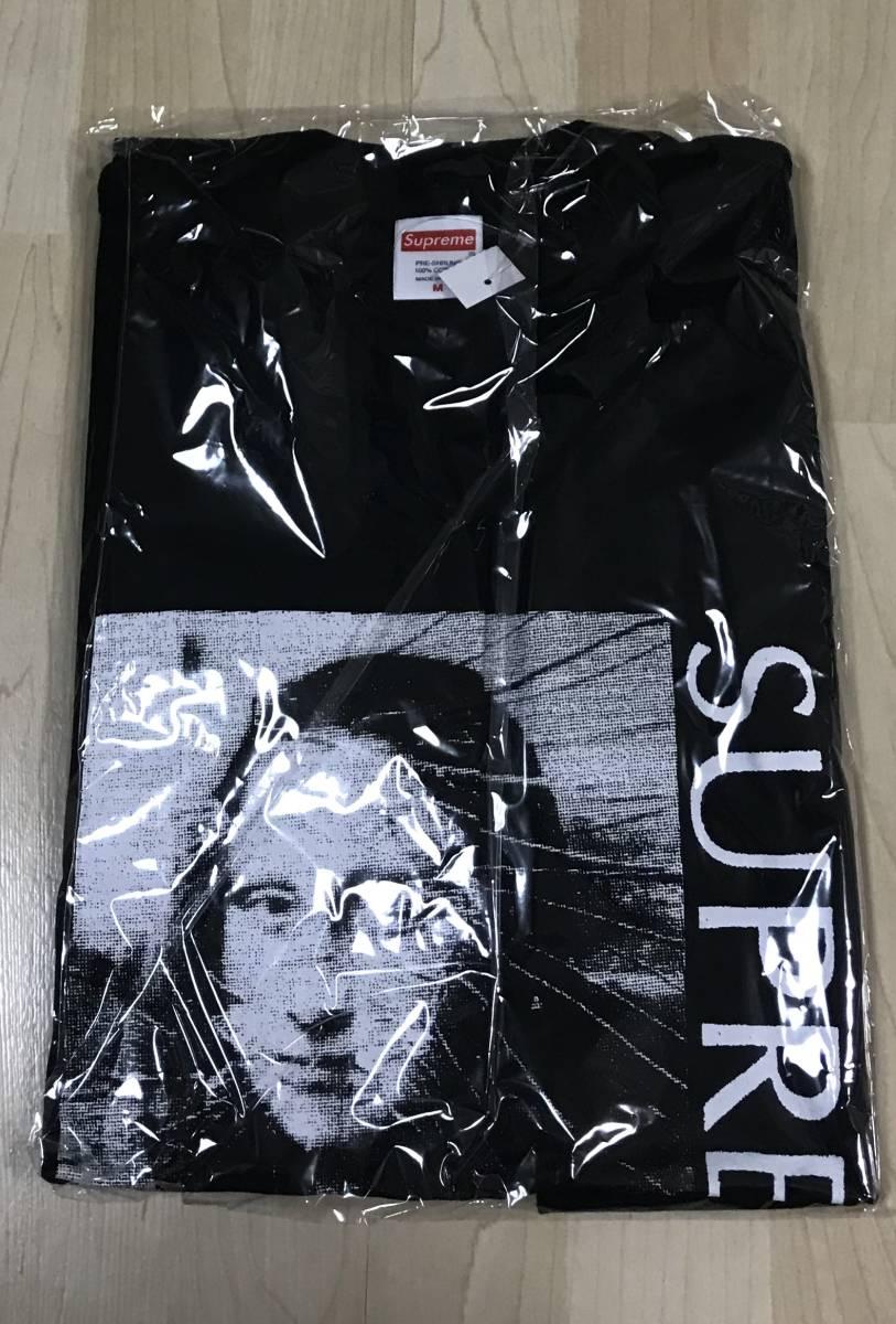 国内正規 新品 Mサイズ Supreme Mona Lisa Tee 黒 ブラック black モナリザ シュプリーム Tシャツ_画像2
