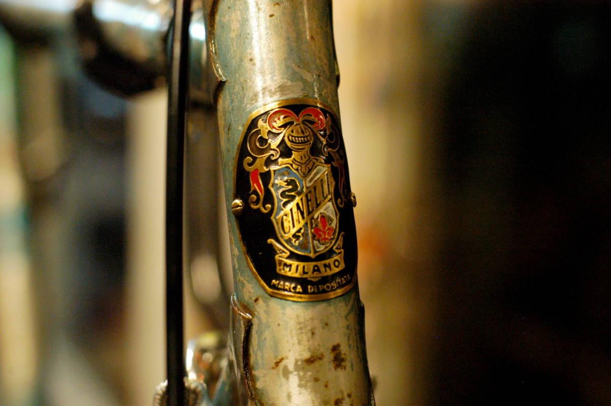 """Vintage ビンテージ Cinelli チネリ Model""""B"""" モデル""""B"""" オリジナルカラー 当時物 1953~1957年製 1950s Madein Italy イタリア製_画像1"""