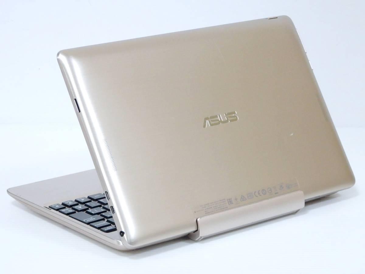 綺麗◆ASUS TransBook T100TAM◆クアッド4コア Atom Z3795 ターボ4GB SSD32GB+500GB◆タブレットPC/10.1型タッチパネル◆Win10◆Office2016_画像4