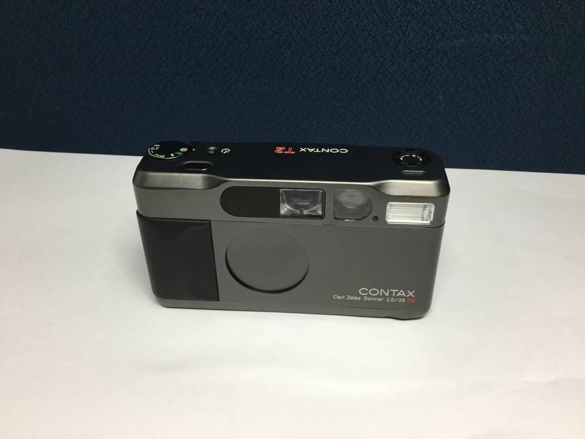 新品未使用 CONTAX コンタックス T2 Carl Zeiss Sonnar 38mm F2.8 チタンブラック _画像2