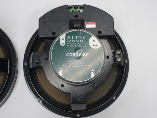 ALTEC CD912-8C(2ウェイ同軸ユニットネットワーク内蔵ペア)【中古品】_画像6