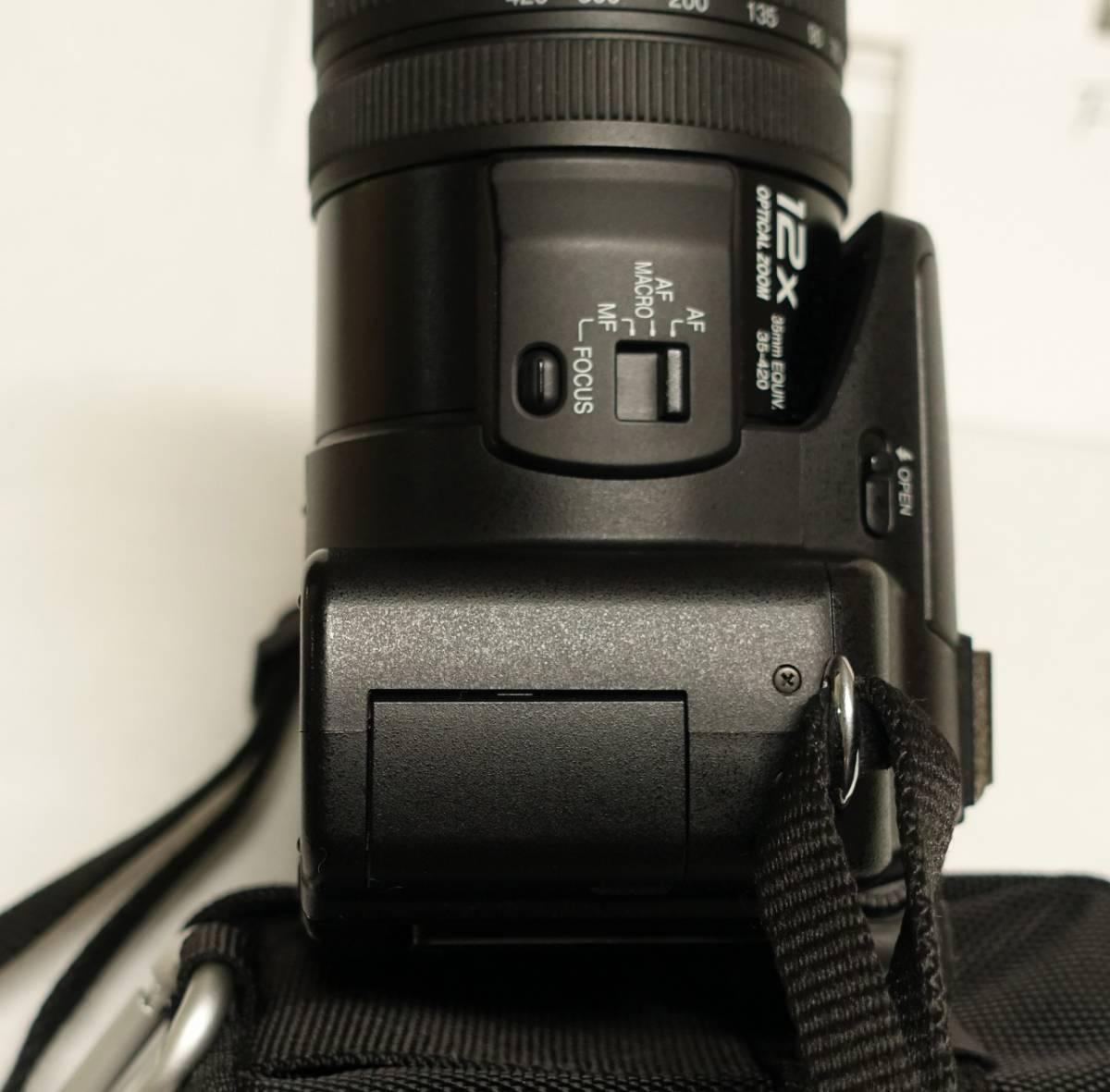 パナソニック デジタルカメラ LUMIX FZ50 美品 完動品 動作保証 動作不良は返品可 惚れ込む性能 (検 sony RX100 HX100vと似た機能_画像7