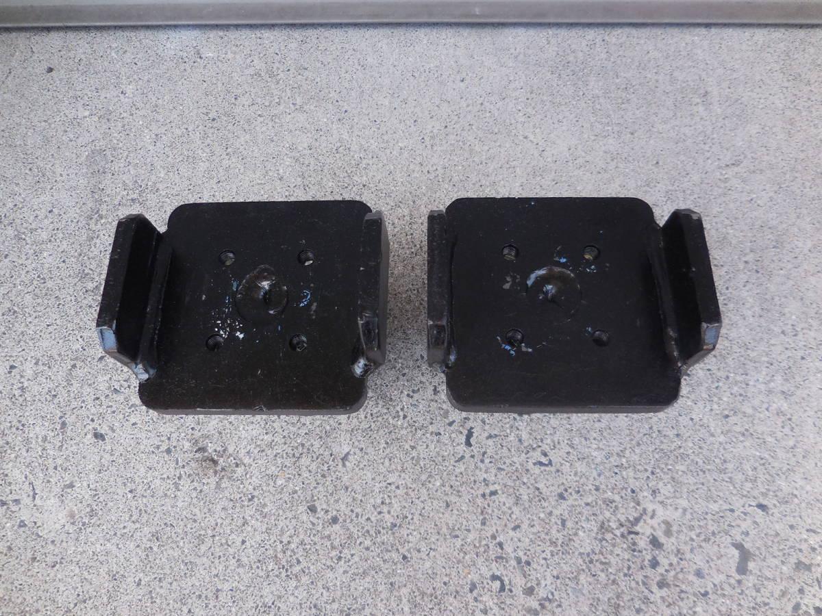 ☆中古 リフト用フレームアタッチメント ビシャモン LA ロータイプ 柱リフト用 差込径60mm 自動車整備☆_画像5