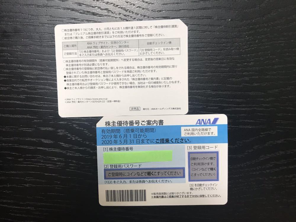 ANA 株主優待 2枚_画像2