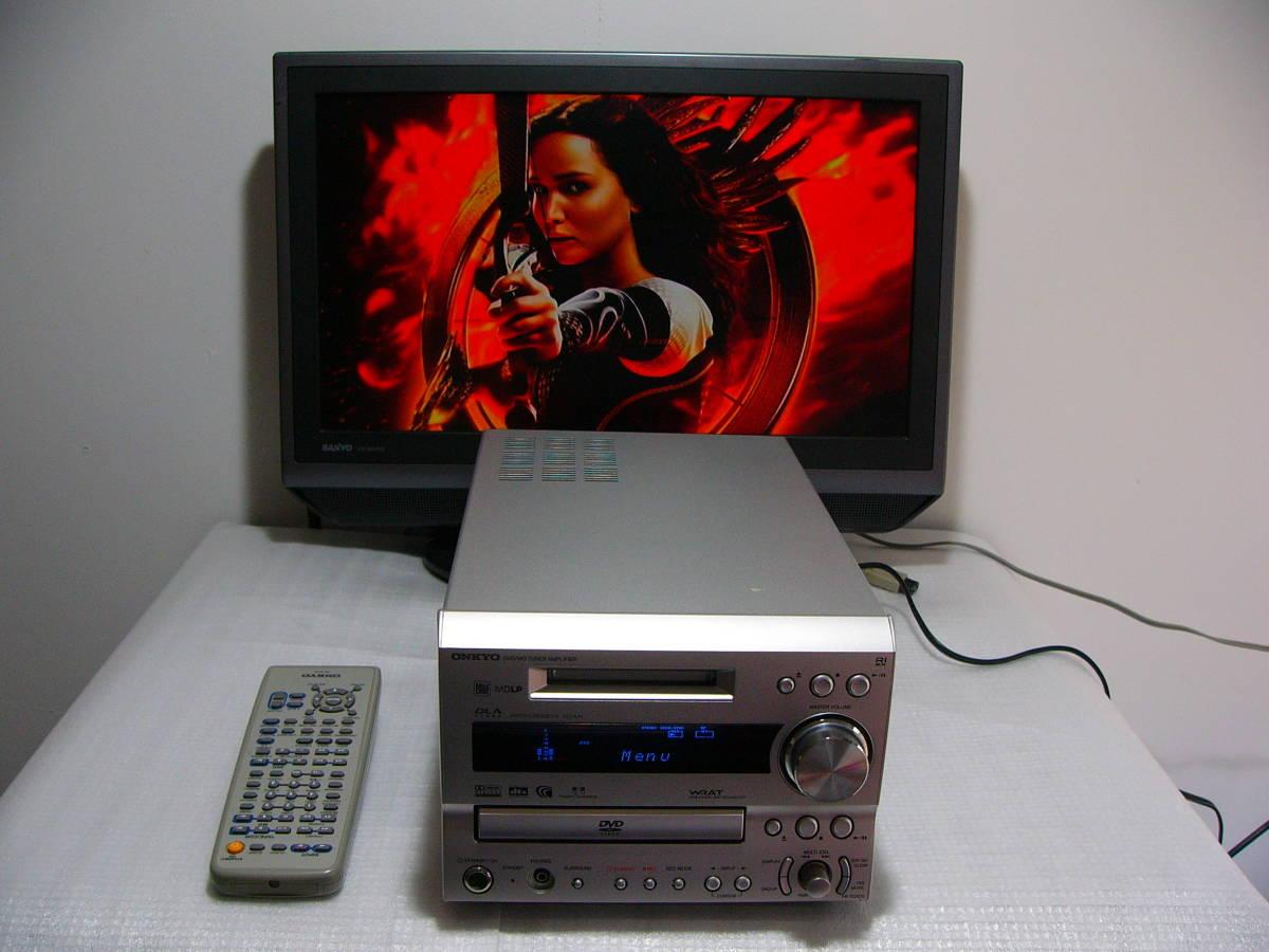MD DVDシステムコンボ:ONKYO FR-7GXDV★★★訳あり作動品_画像3