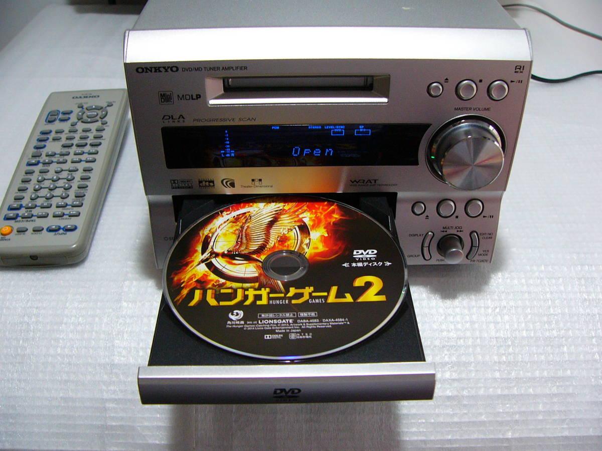 MD DVDシステムコンボ:ONKYO FR-7GXDV★★★訳あり作動品_画像2