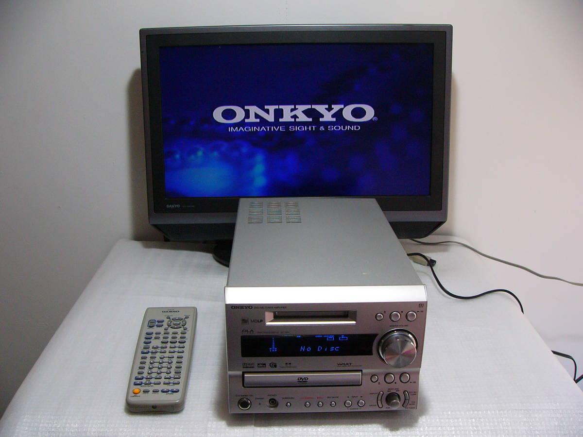 MD DVDシステムコンボ:ONKYO FR-7GXDV★★★訳あり作動品