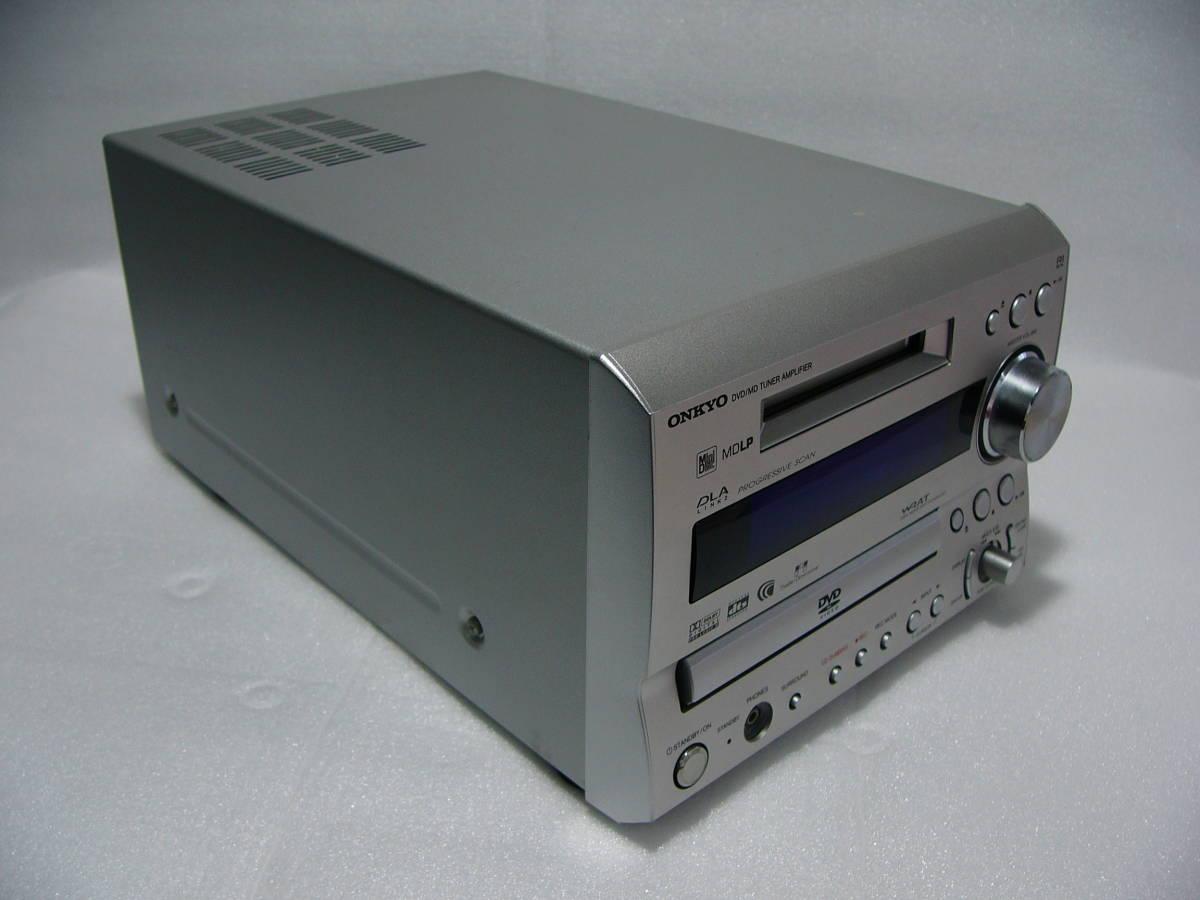 MD DVDシステムコンボ:ONKYO FR-7GXDV★★★訳あり作動品_画像7