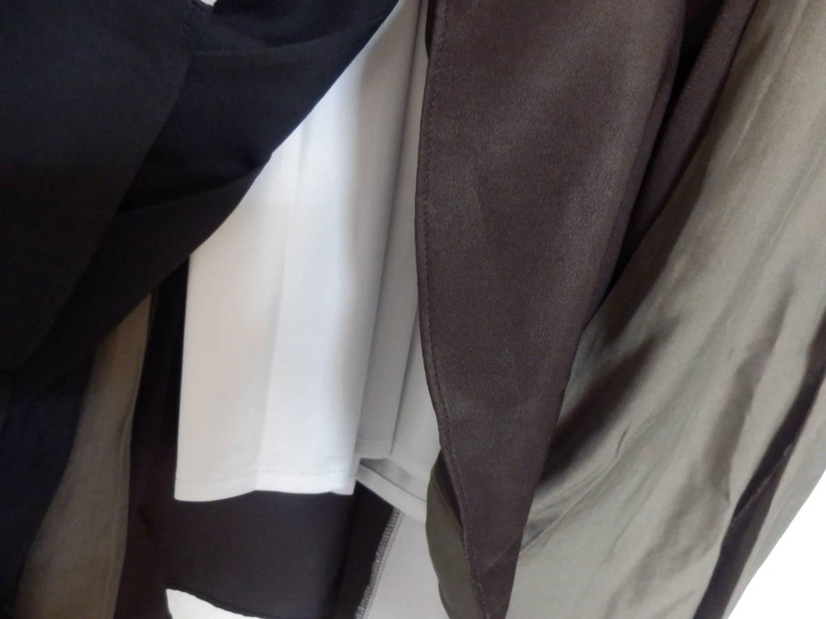 新品スコットクラブSCOTCLUBウエストリブゴム素材アースカラーフレアースカートミモレ丈定価15000日本製_画像6