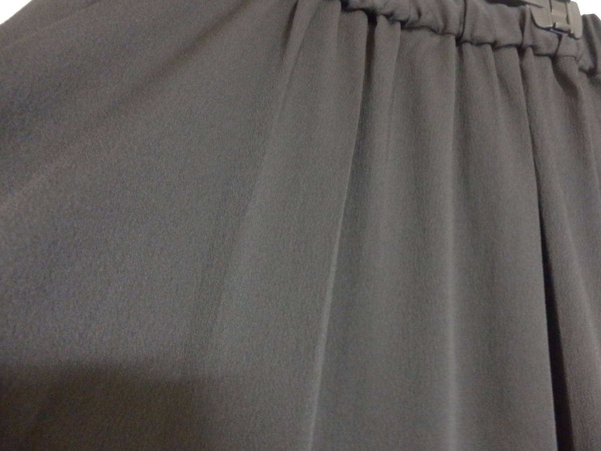 新品bouchonスコットクラブウエストゴムマキシ丈ロング黒スカート定価15984日本製SCOTCLUB_画像5
