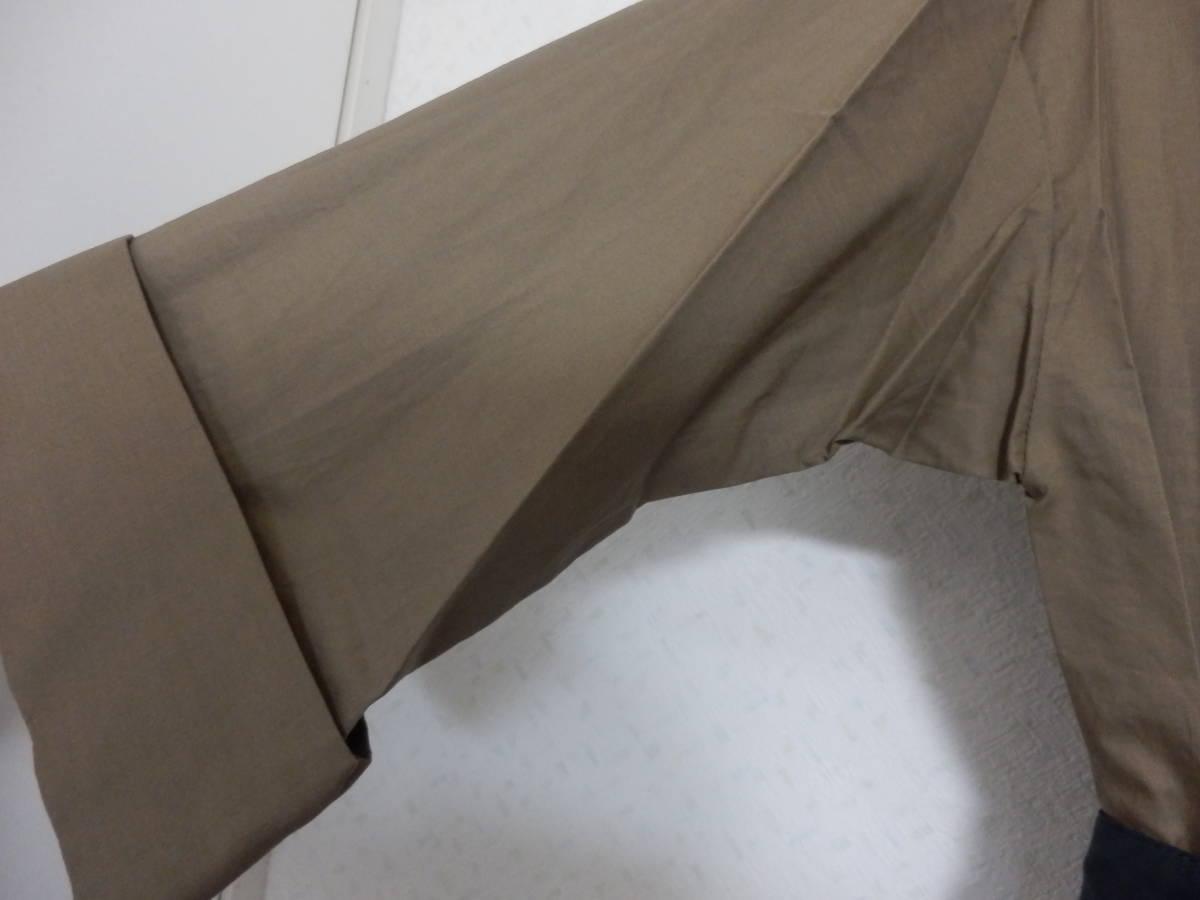 新品グランターブルスコットクラブサッシュベルト付コットン100%七分袖フレアースカートシャツワンピカー定価19990日本製_画像3