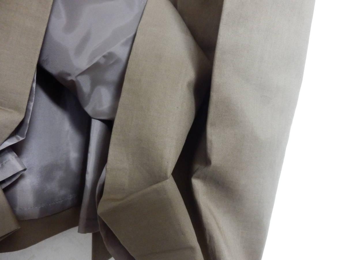 新品グランターブルスコットクラブサッシュベルト付コットン100%七分袖フレアースカートシャツワンピカー定価19990日本製_画像6