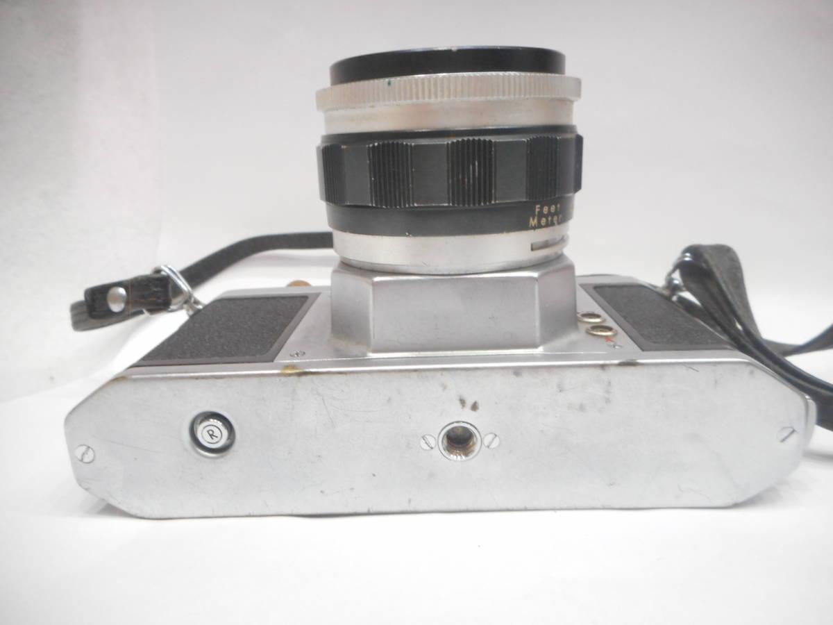 ◇一眼レフ カメラ ASAHI PENTAX S2 レンズ Auto-TAKUMAR 1:2/55mm Asahi Opt アサヒ ペンタックス タクマー ◇_画像9