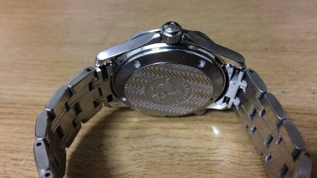 【祝!令和】オメガ シーマスター 300M 青文字盤 ボーイズ 稼動品 2551.80_画像3