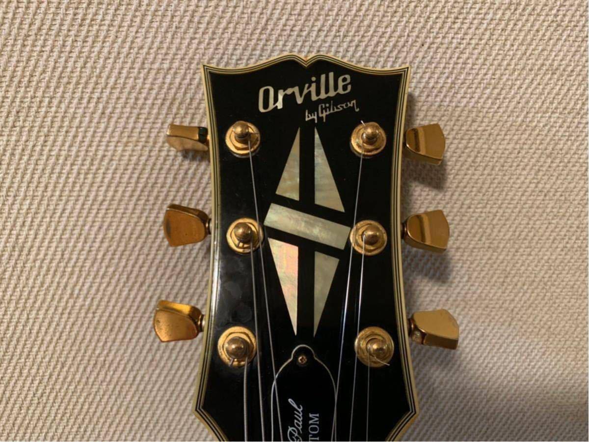 orville by gibson les paul custom LPC-EB オービル バイ ギブソン レスポール カスタム LPC-EB_画像6