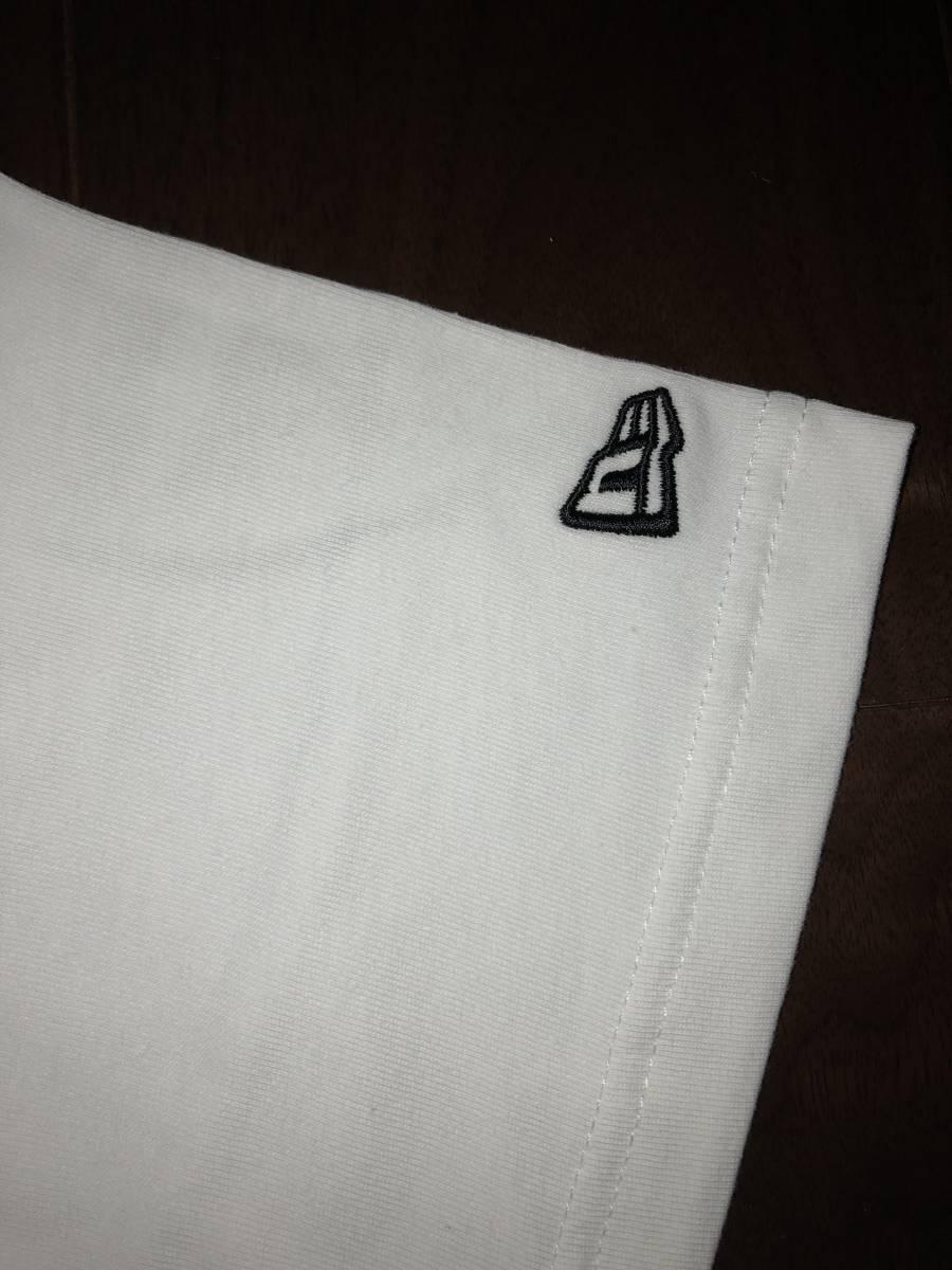 レア 新品未使用 NEW ERA ニューエラ サンタクルーズ コラボ Tシャツ XLサイズ スクリーミングハンド 白 パウエル スケート_画像4