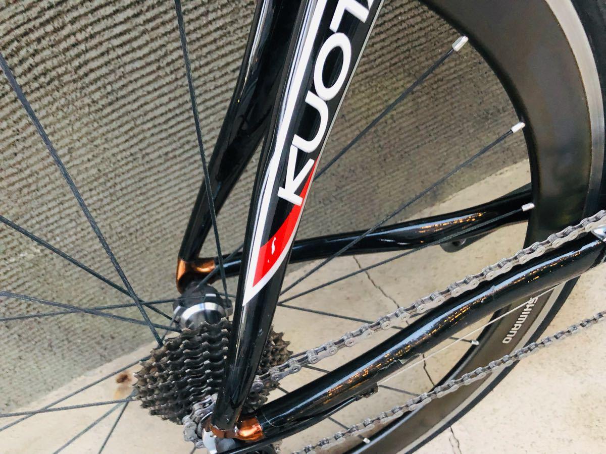 売り切り kuota kharma race 2011 シマノWH-RS81-C50 ディープリム アルテグラ 6700仕様_画像9