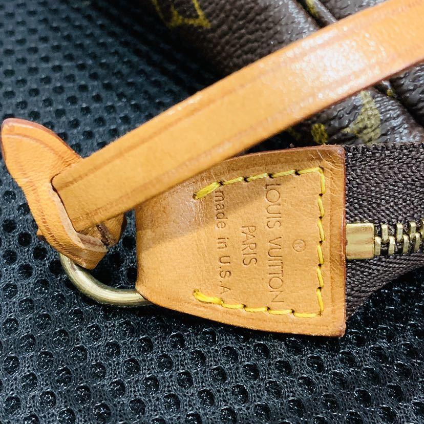【521-K 美品】ルイヴィトン Louis Vuitton ポシェット アクセサリーポーチ モノグラム アクセソワール M51980 レディース_画像2