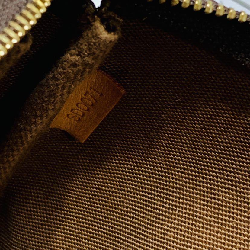 【521-K 美品】ルイヴィトン Louis Vuitton ポシェット アクセサリーポーチ モノグラム アクセソワール M51980 レディース_画像6