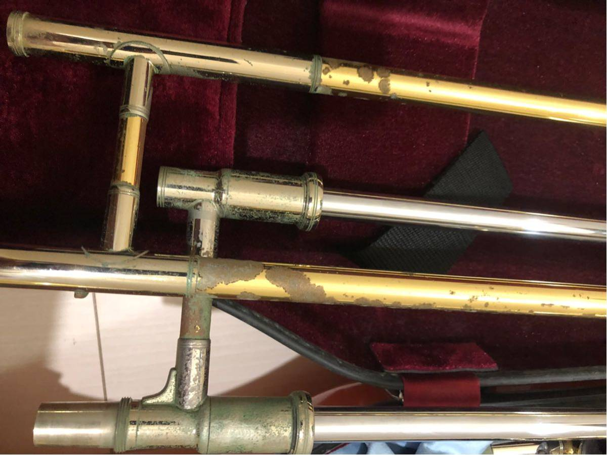 YAMAHA ヤマハ Xeno ゼノ テナー バス トロンボーン YSL882UII ハードケース 付 金管楽器 吹奏楽 _画像7