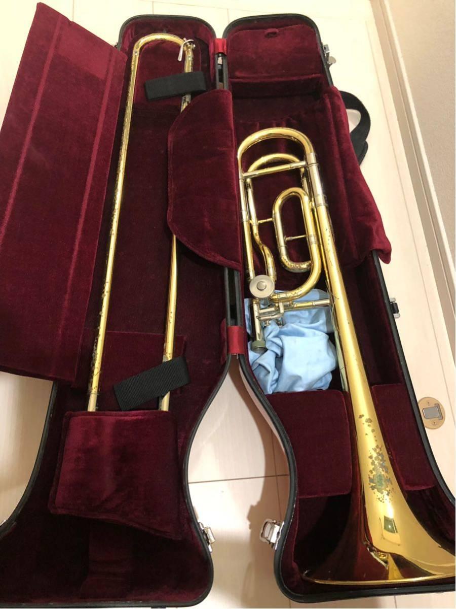 YAMAHA ヤマハ Xeno ゼノ テナー バス トロンボーン YSL882UII ハードケース 付 金管楽器 吹奏楽