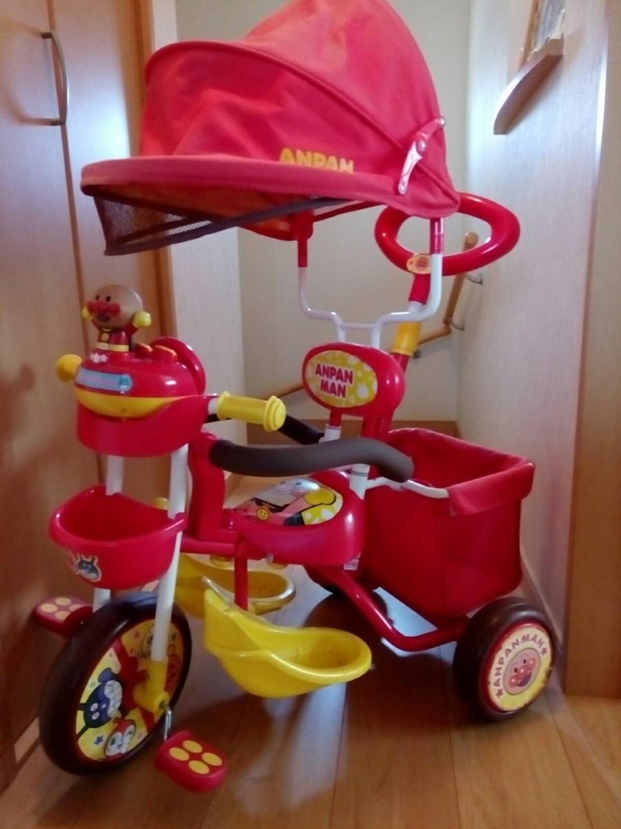 アンパンマン 三輪車デラックス