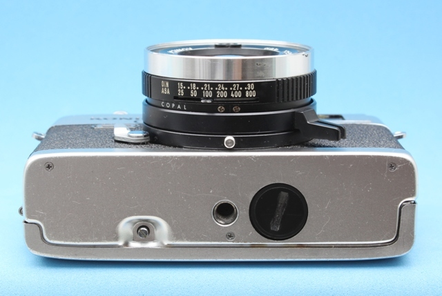 Konica C35 FD Hexanon 38mm 1:1.8 シャッター・露出計作動確認済み ジャンクで コニカ_画像7