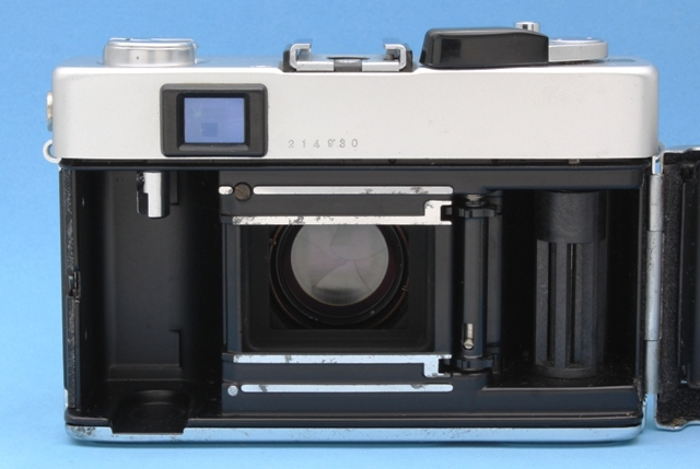 Konica C35 FD Hexanon 38mm 1:1.8 シャッター・露出計作動確認済み ジャンクで コニカ_画像9
