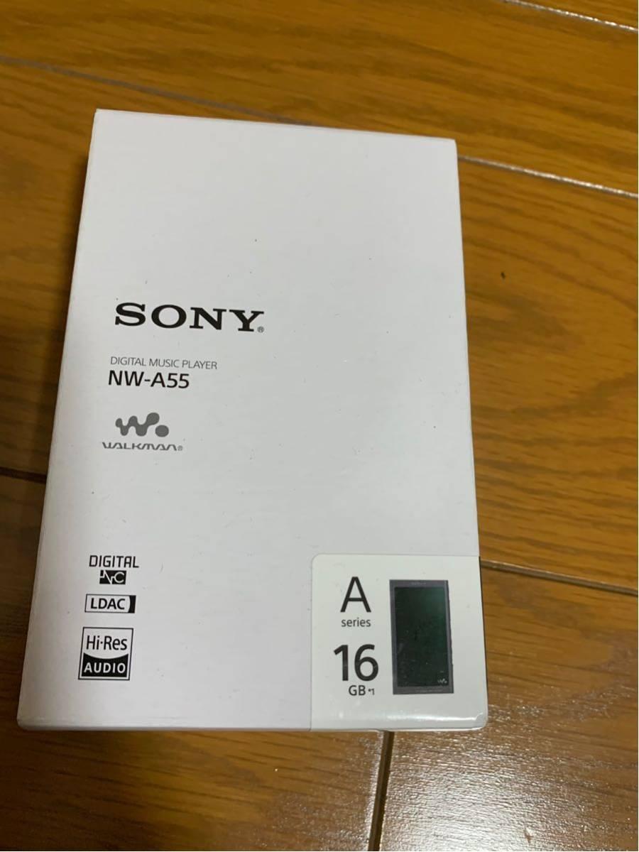 ヨドバシ5年延長保証付 美品 SONYウォークマン NW-A55 16GBモデル グレイッシュブラック_画像2