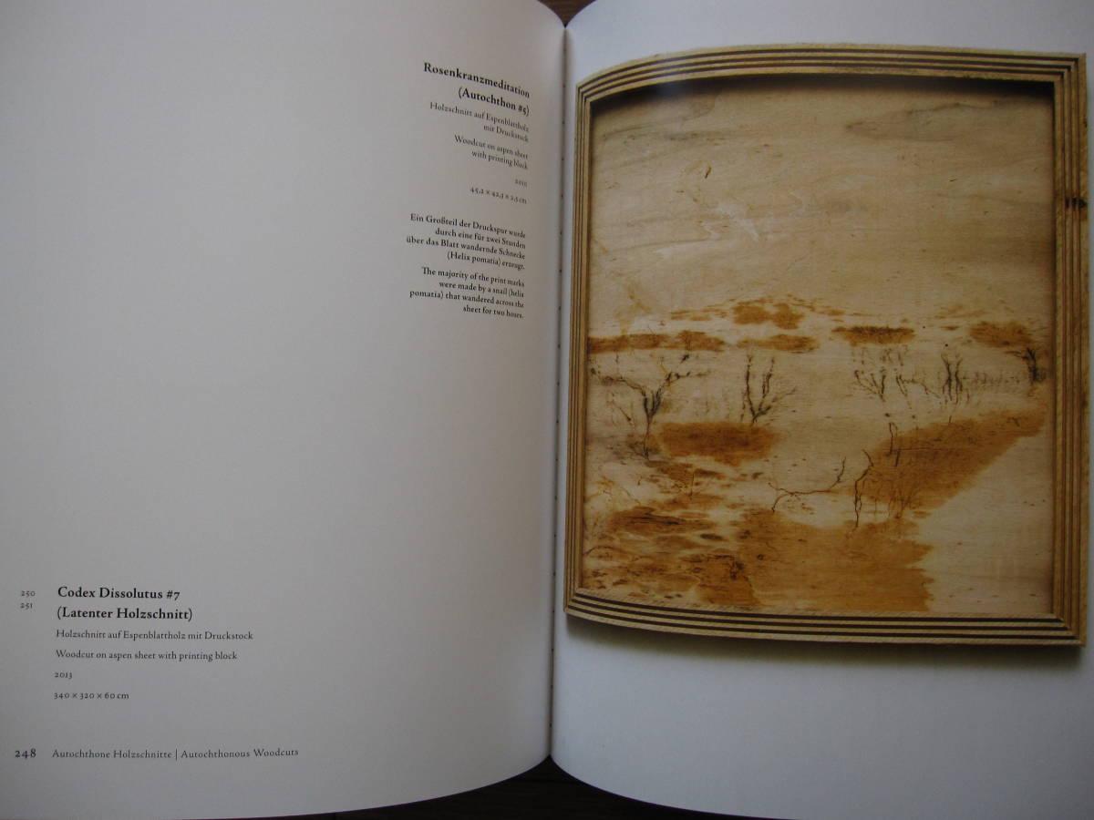 洋書 Parusia : Christoph M. Loos / クリストフM.ルース / 現代アート / 木版 ハードカバー_画像3