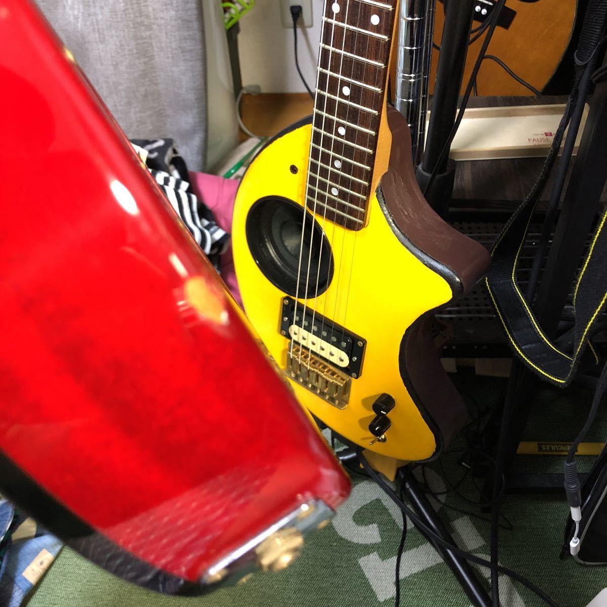 送料込!売切!epiphone Elite tak burst Les Paul フジゲン製 Gibsonヘッド tak matsumoto_画像5
