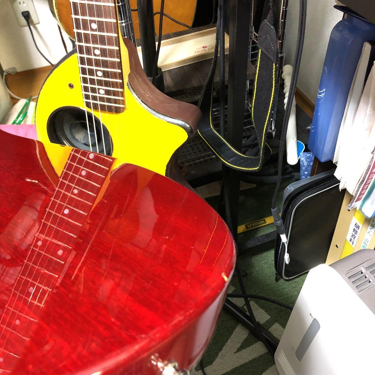 送料込!売切!epiphone Elite tak burst Les Paul フジゲン製 Gibsonヘッド tak matsumoto_画像6