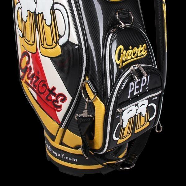 個性的!!刺繍入り GUIOTE ゴルフ キャディバッグ caddie bag  ゴルフバッグ golf bag Cheers GU-10_画像10